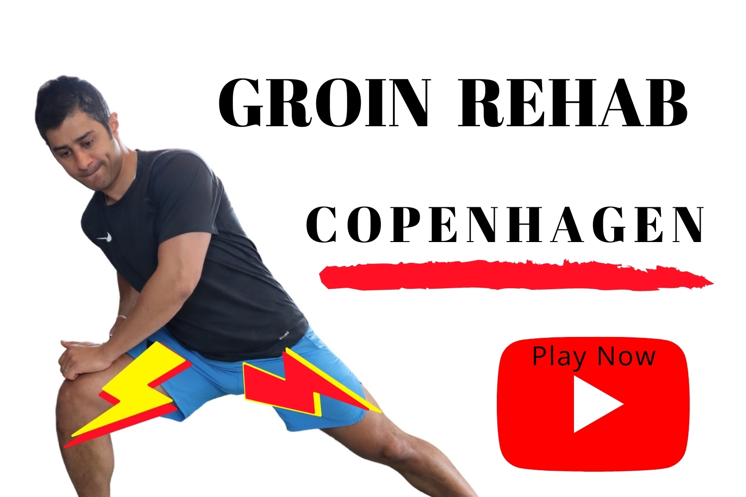 Groin injury adductor strain