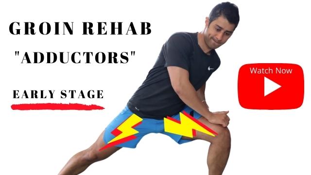 Groin Injury rehabilitation