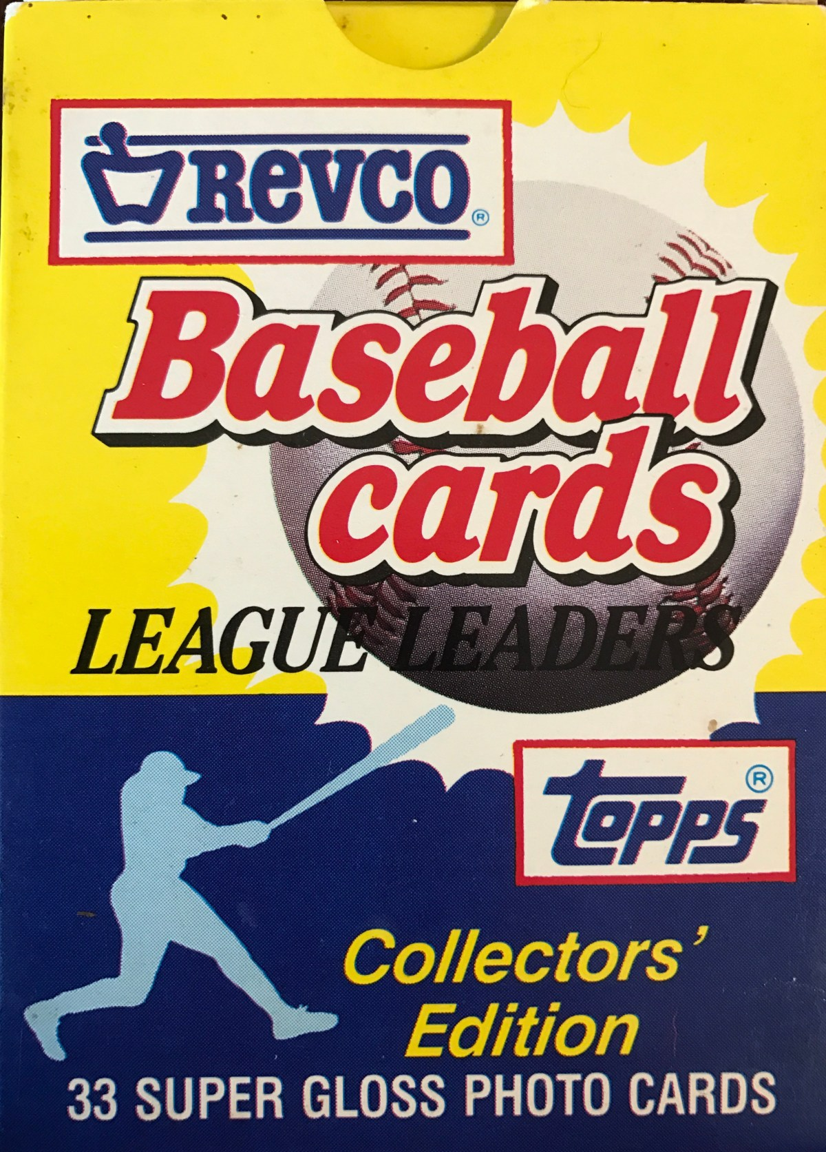 1988 Revco Baseball – The Cure For What Ails You!