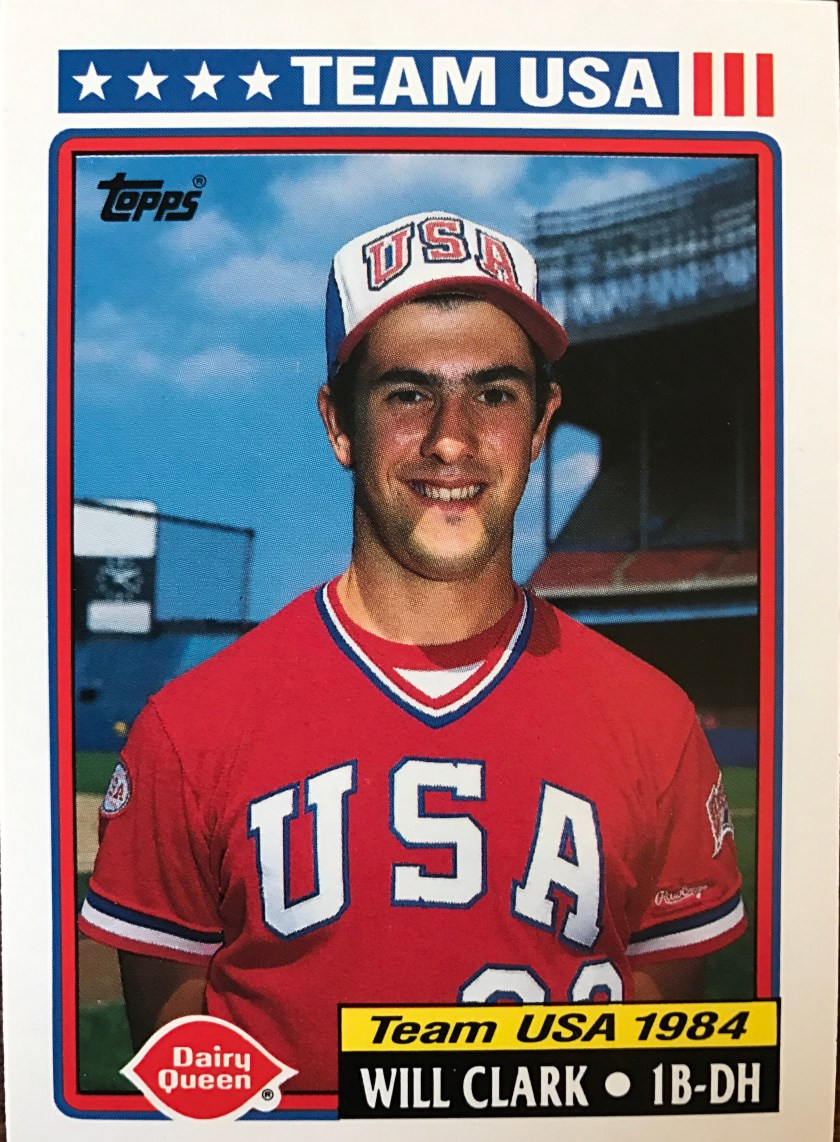 Will Clark 1984 – One of McGwire s teammates was another 1B that would go  on to have a very good MLB career. While McGwire had a good Tour in 1984  with a . ... a63433d20