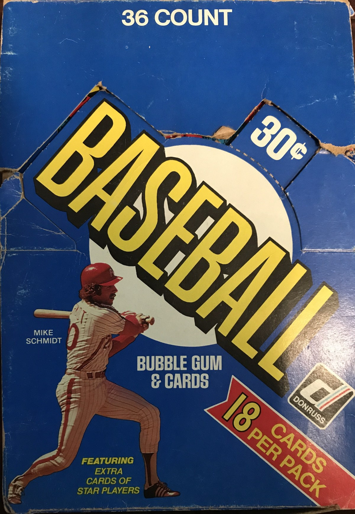 1981 Donruss – Why Gum, Why??