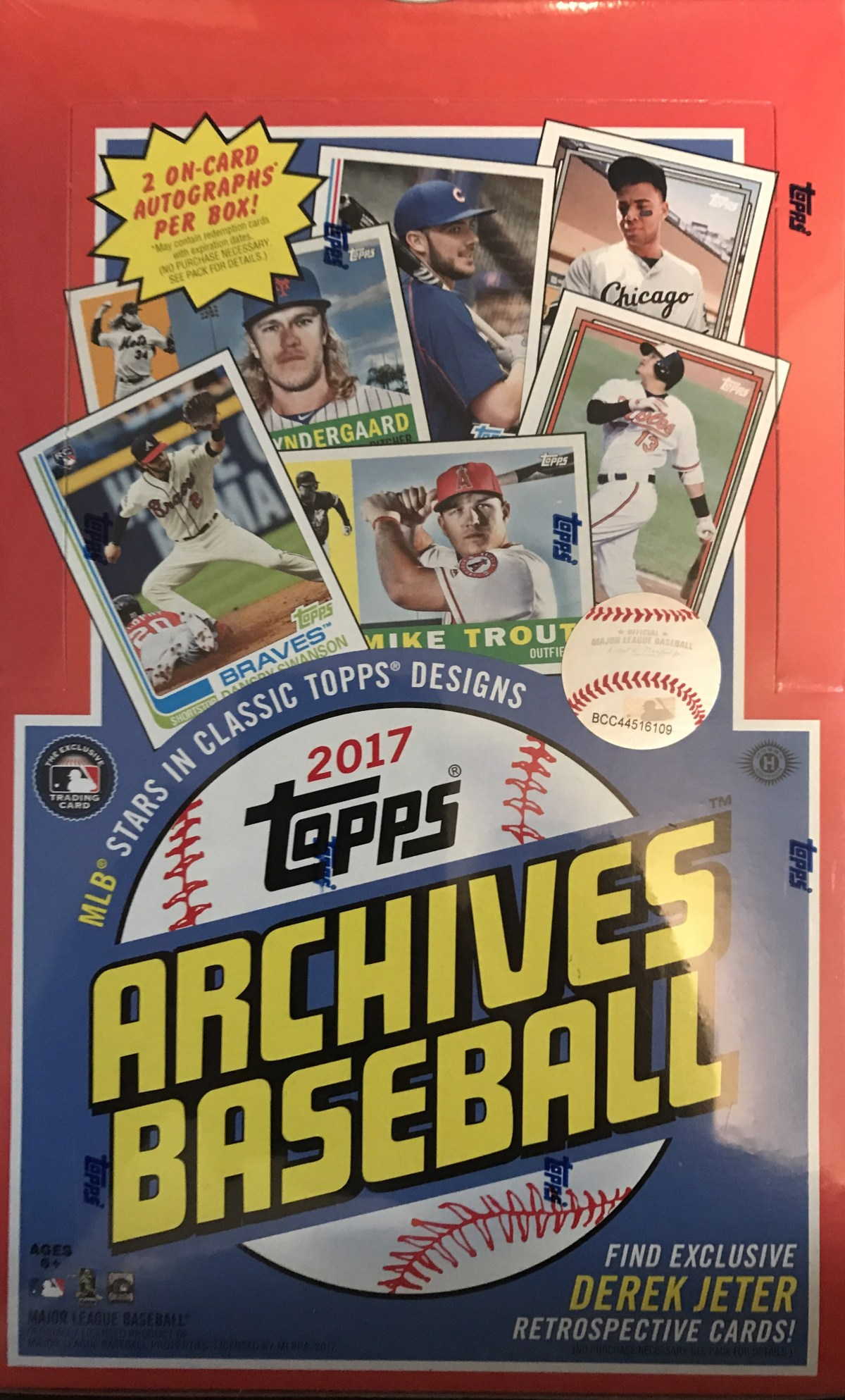 2017  Topps Archives – Different But Still The Same