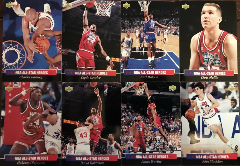 d9dc3a69265 The West had 8 representatives in the NBA All-Star Heroes collection. There  isn't a player in this stack that I didn't like.