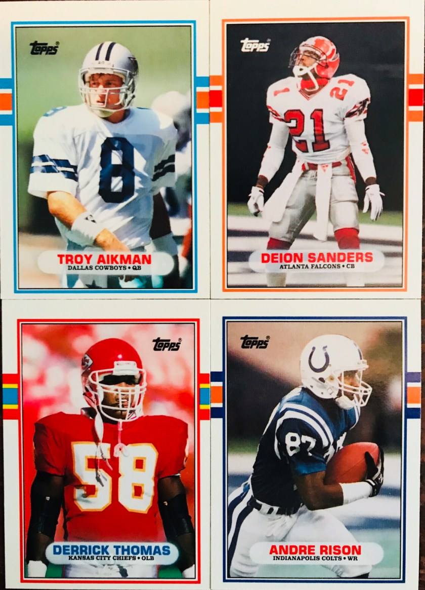 6862fe0ef Here are the studs (except one) in the traded set. The rookies of Aikman