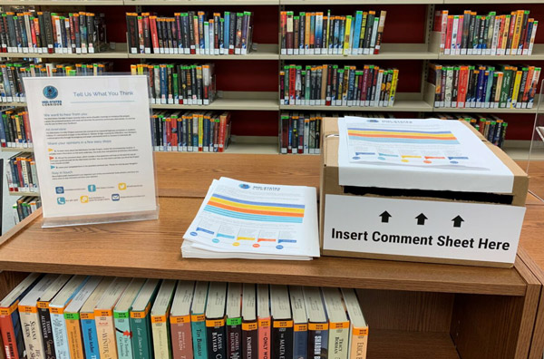 MidStates Corridor provides comment forms/information at area libraries