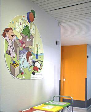 la-maisonnee-Francheville-decoration-albert-clementine-rdc-mur-fresque-1