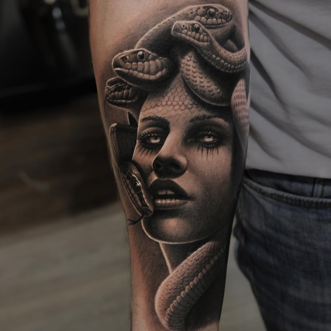 Sicilian Black Hand Tattoo