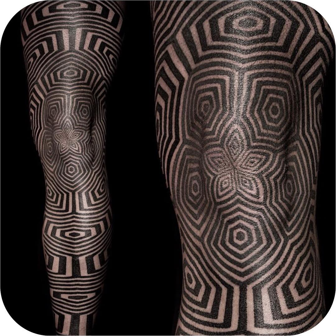 Optical Illusion Tattoo Gallery