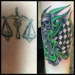 Racing Tattoo Cover Up Best Tattoo Ideas Gallery