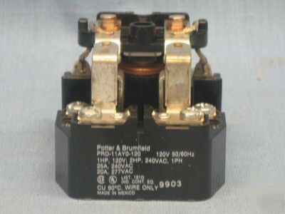 Potter Amp Brumfield Relay 3a963 Prd11ayo 120v