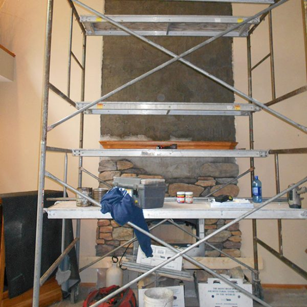 Baraboo WI Wood Fireplace Remodel Chimney Specialists