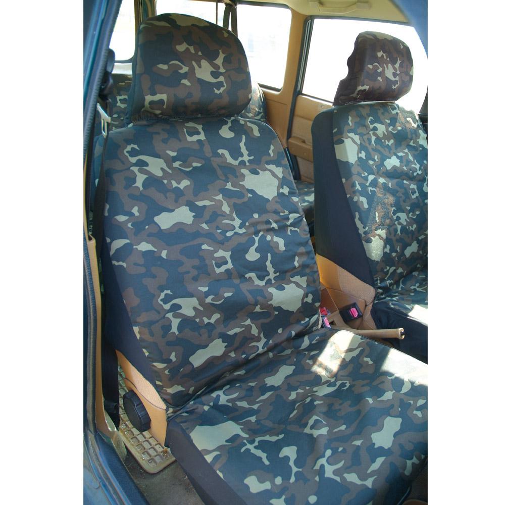 set housses de voiture camouflage