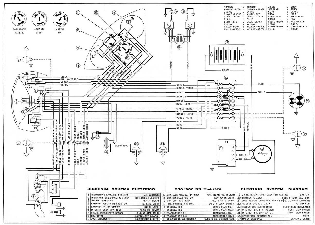 Ducati 695 Wiring Diagram