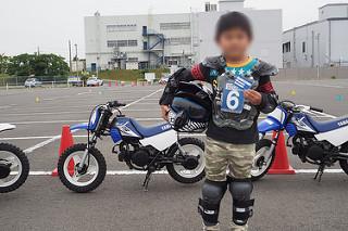 ヤマハ親子バイク教室 修了カードを貰いました