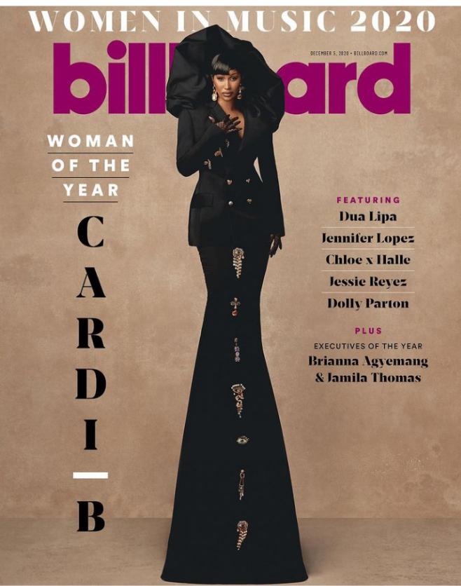 Cardi B Billboard Woman Of The Year
