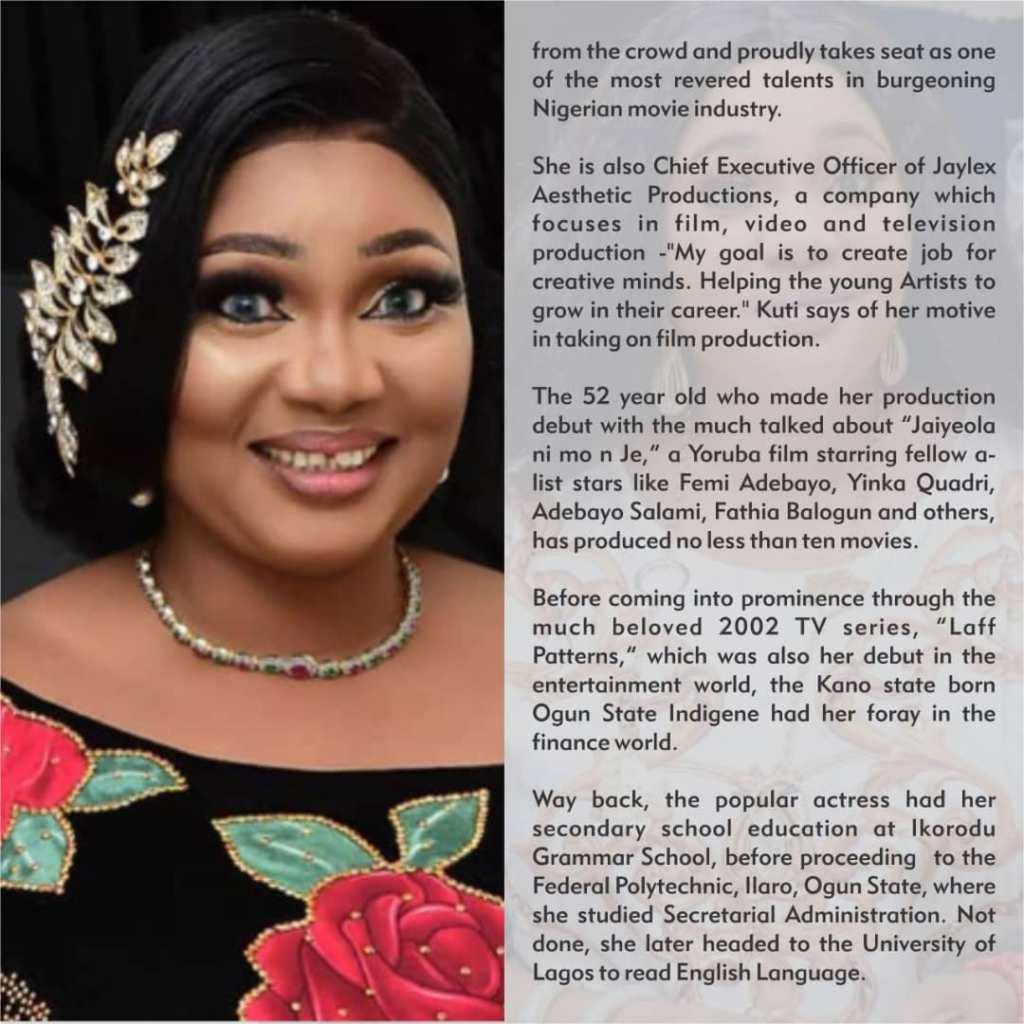 Jaiye Kuti Nollywood Star