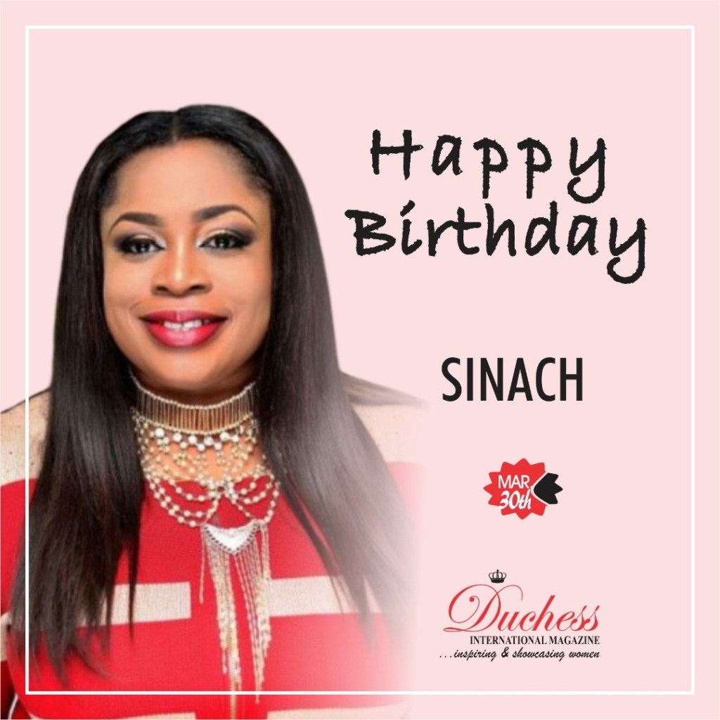 Happy Birthday Sinach