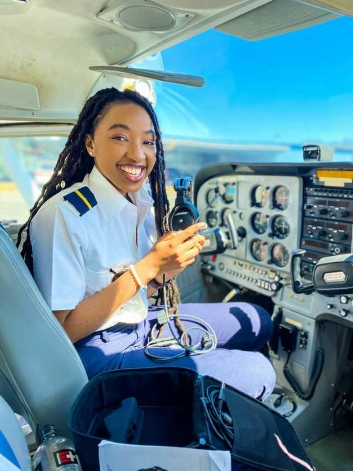 Izuchukwu Miracle joins elite group of 1% black female pilots in the world