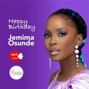 Happy Birthday Jemima Osunde