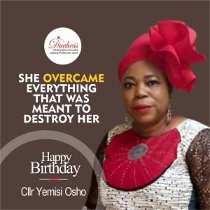 Power Woman Councillor Yemi Osho