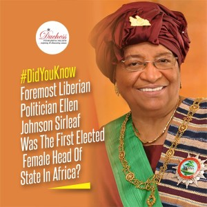 #DidYouKnow Foremost Liberian Politician Ellen Johnson Sirleaf Was The First Elected Female Head Of State In Africa?