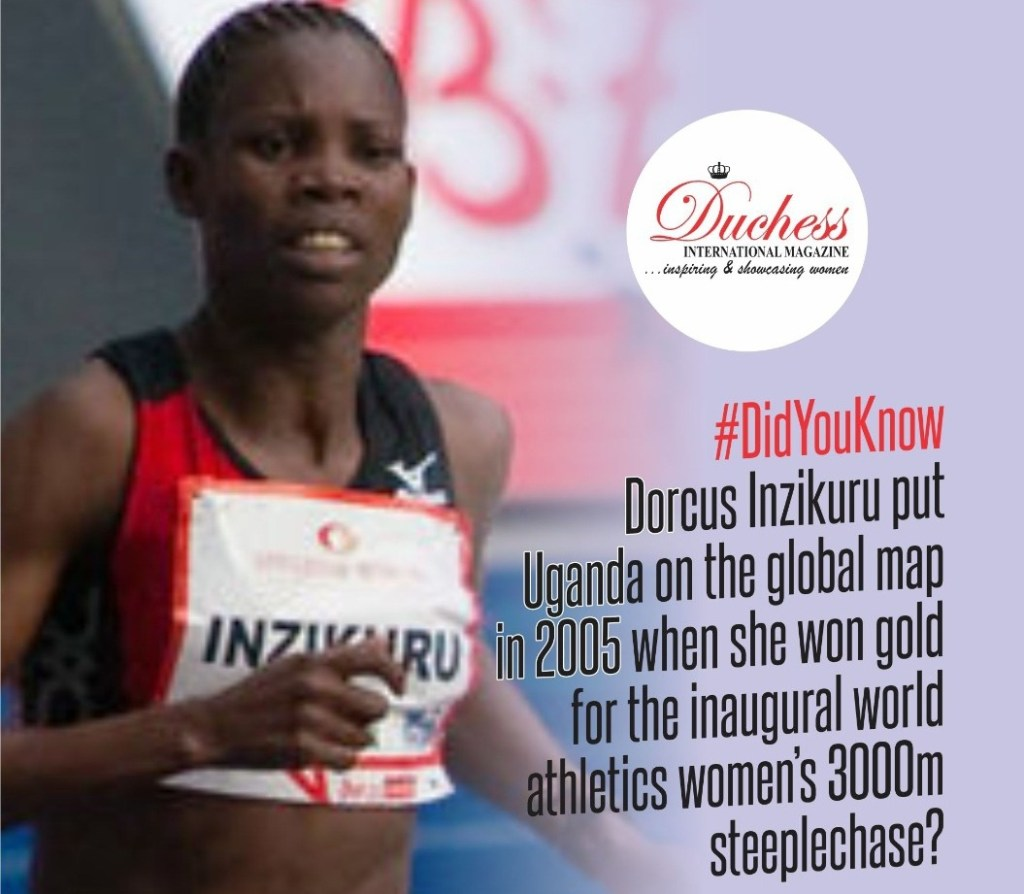 #DidYouKnow Dorcus Inzikuru put Uganda on the global map in 2005 when she won gold for the inaugural world athletics women's 3000m steeplechase?