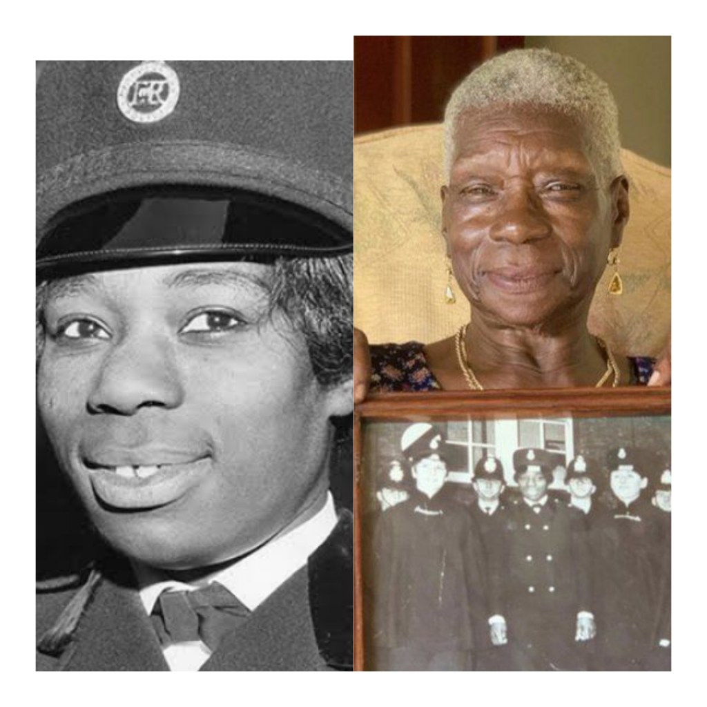 Farewell To An Icon 👑 Sislin Fay Allen first black woman police woman in the United Kingdom dies at 83