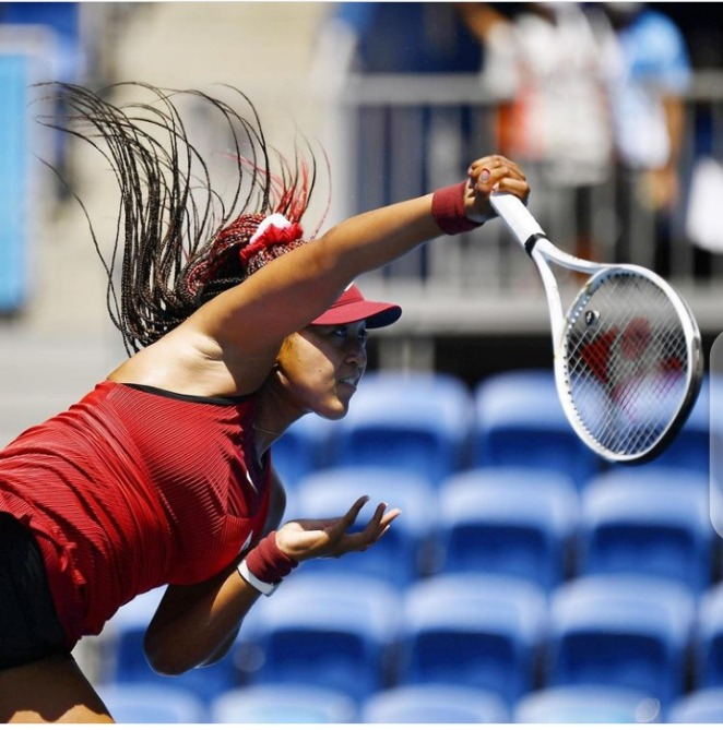 #Tokyo2020 Naomi Osaka makes Olympic debut