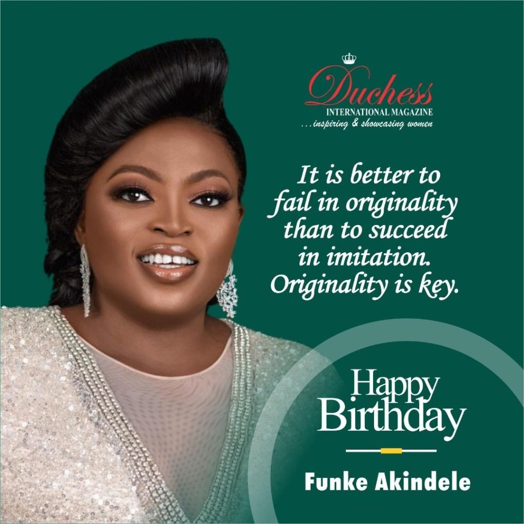 Happy Birthday Nollywood Star Funke Akindele