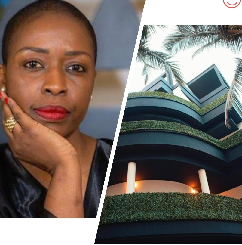 Souadou Niang owner of Palms Luxury Boutique Hotel in Dakar, Senegal: