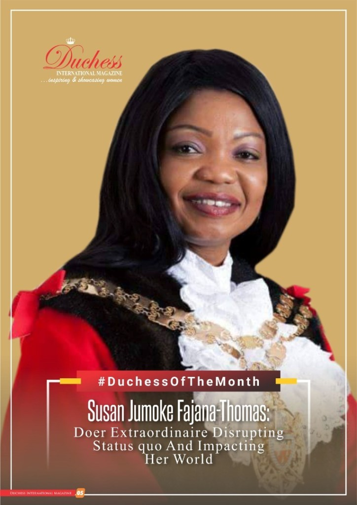 #DuchessOfTheMonth Susan Jumoke Fajana-Thomas