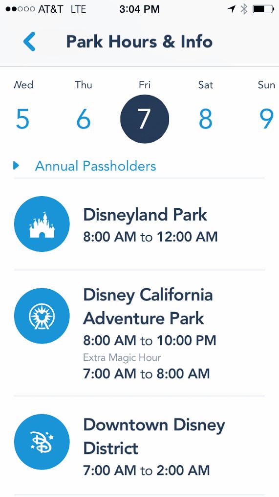 DisneylandOfficialApp2