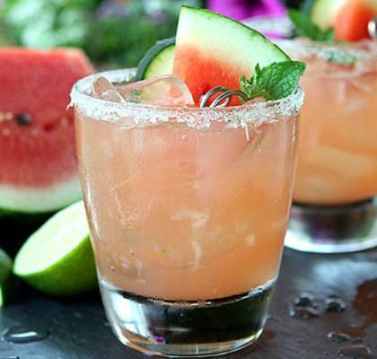The Duckinapot.com Fire Cracker Watermelon Vodka Cocktail