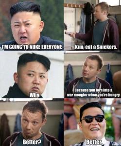 Kim Jong Snickers