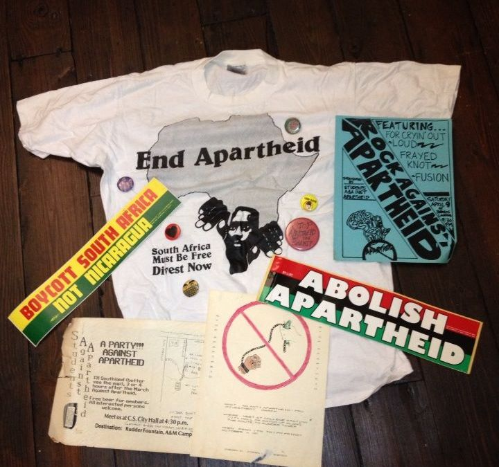 Remembering Mandela and the Movement Against Apartheid