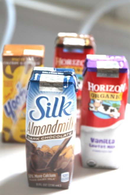 Read the label, understand the best ingredients, for the best milk on the go options.