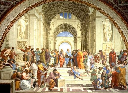 The School of Athens by Rafael