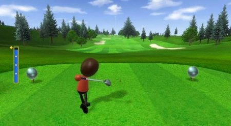 Kid s Video Games  Wii Sports Golf   Tips and hints Nintendo Wii Golf Game