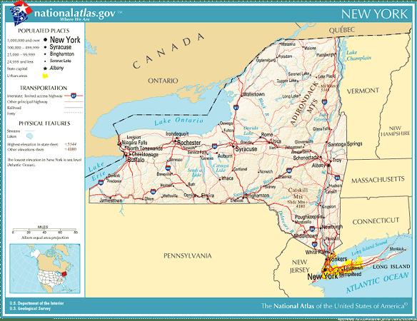 Product Maps Pennsylvania