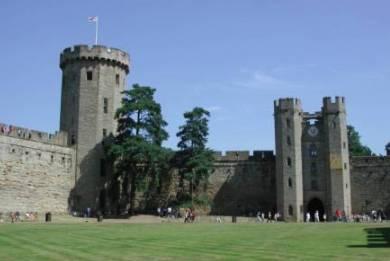 Inside Of Castle Walls