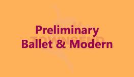 Preliminary - Ballet & Modern