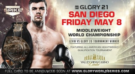 MIDDLEWEIGHT TITLE FIGHT HEADLINES GLORY 21