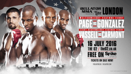 Two Explosive Bouts Added to 'Bellator 158: London' on July 16