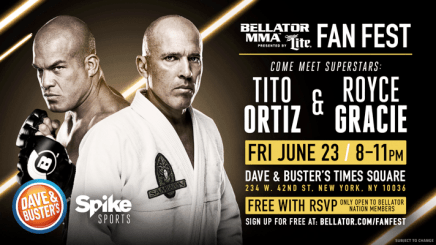 Bellator Nation Invited to Exclusive Fan Fest During Bellator NYC Fight Week