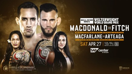 RORY MACDONALD DEFENDS WORLD TITLE