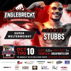 Fight Club OC October 10th Show Nearly Sold Out