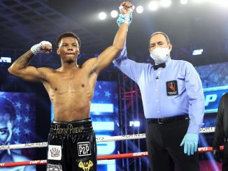 Kahshad Elliott Destroys Jackson in 75 seconds to win pro debut