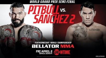 BELLATOR MMA 255: Pitbull vs. Sanchez 2 is set