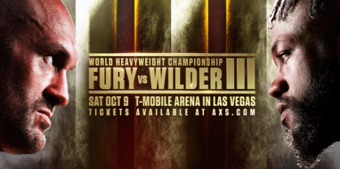 Tyson Fury-Deontay Wilder III Heavyweight World Title Bout Postponed