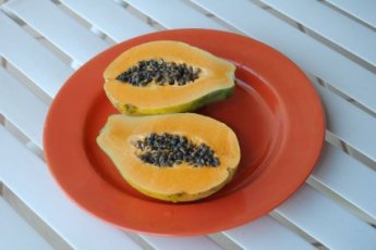Papaya... yum!